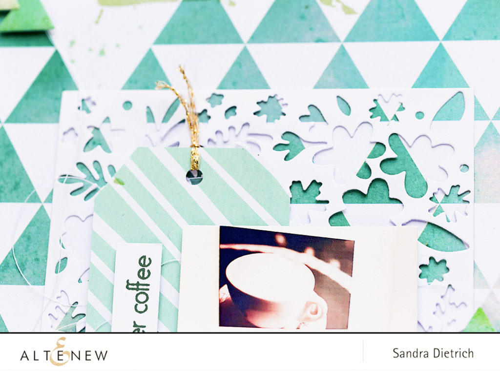 Spring Cover Die Detail @SandraDietrich for @Altnew