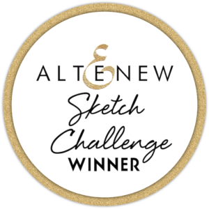 Altenew Sketch Challenge Winner So pleased to be Altenew Sketch Challenge #15 Winner