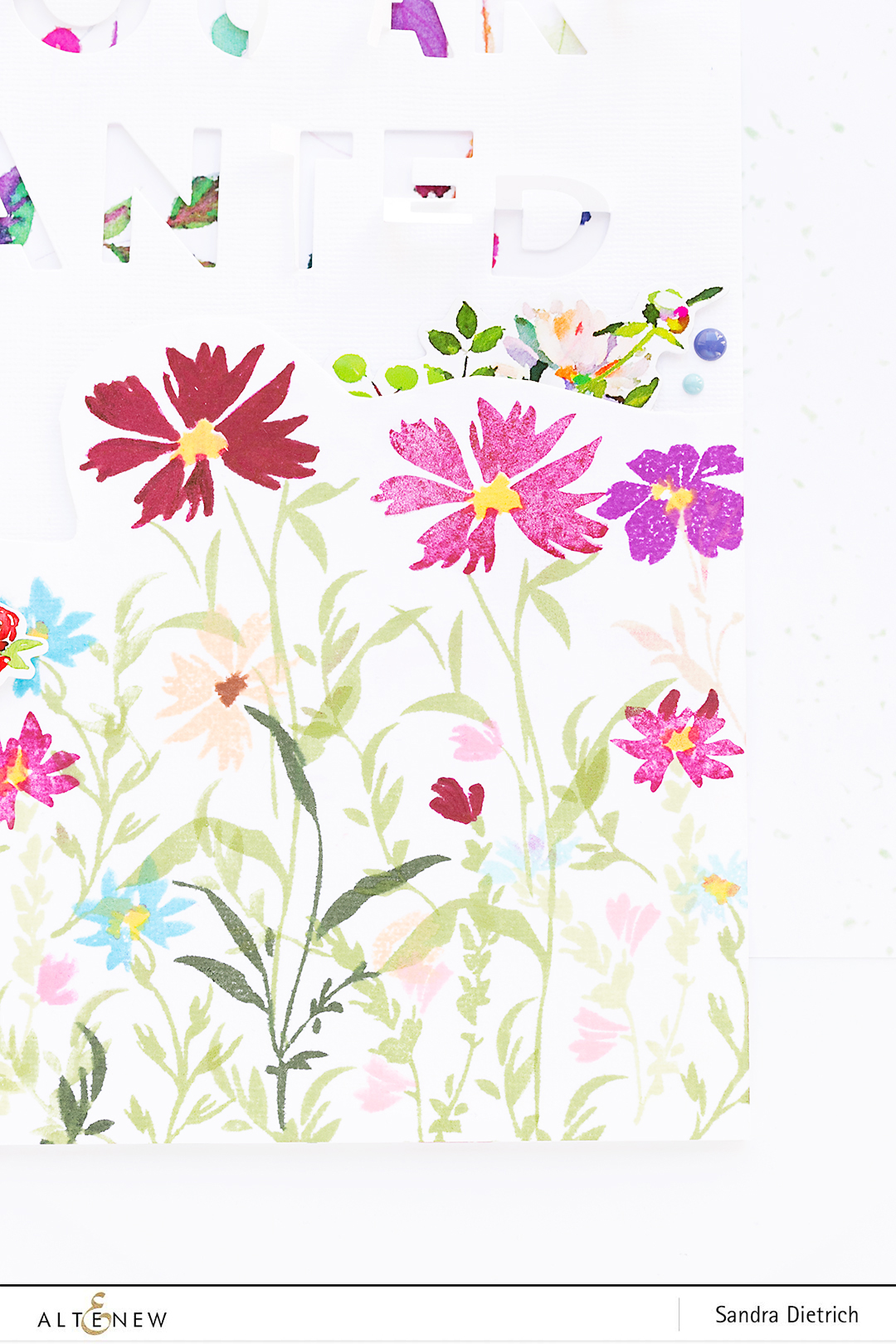 Flower Meadow @SandraDietrich for @Altenew