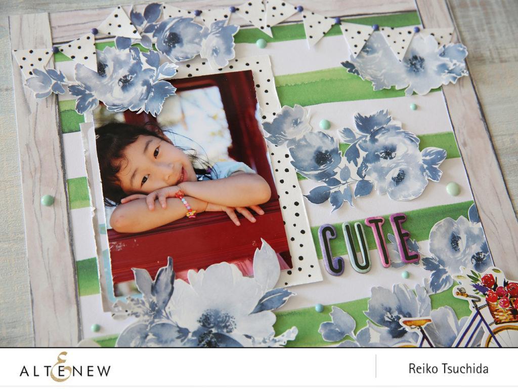 Early Summer Scrapbook Layout Using Washi Tape Altenew Scrapbook,Personal Paper Shredders Walmart