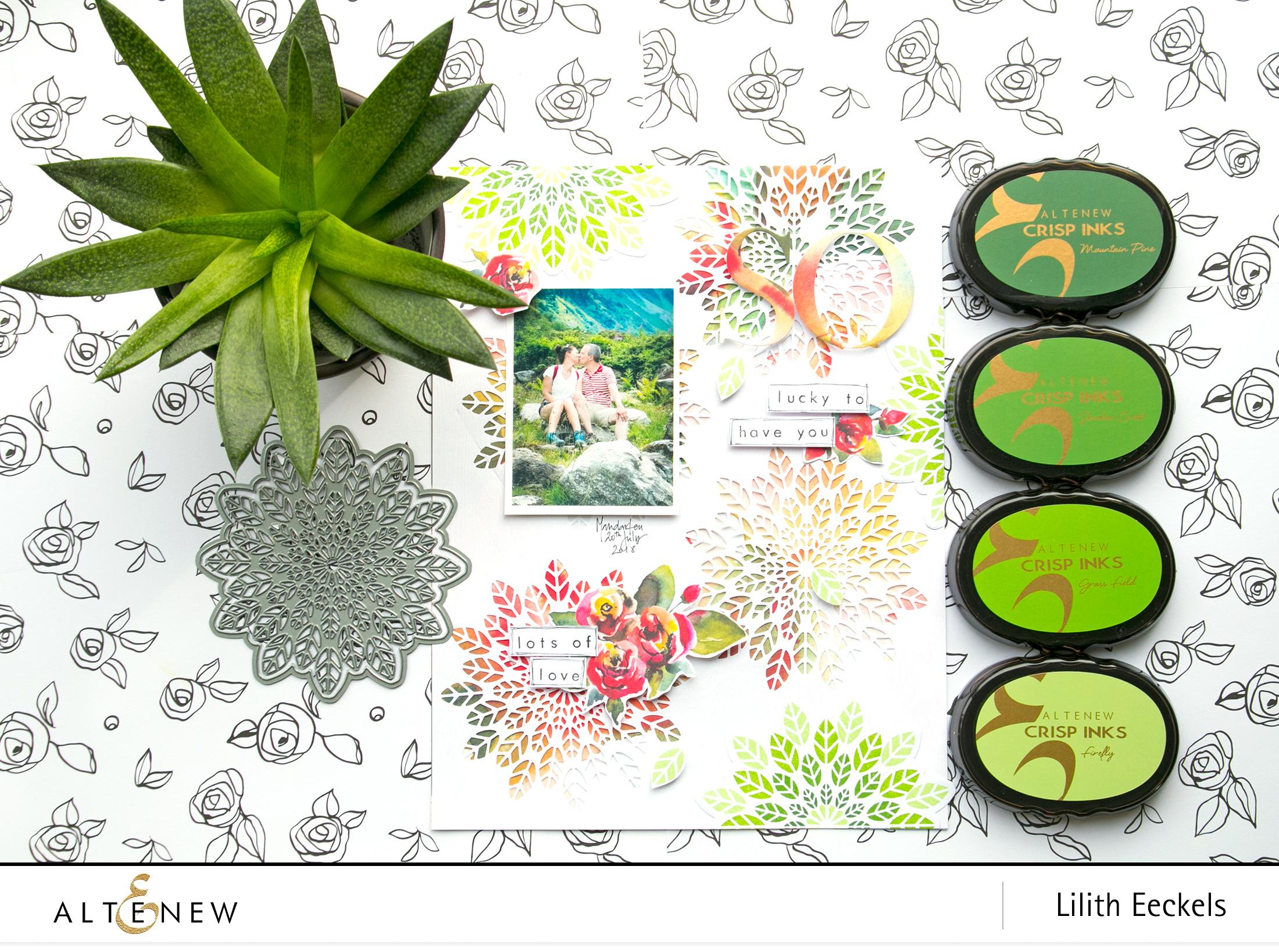 Altenew Scrapbook Beautiful Inspiring Scrapbook Projects