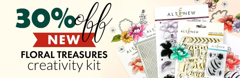 Get 30% OFF Floral treasures creativity kit