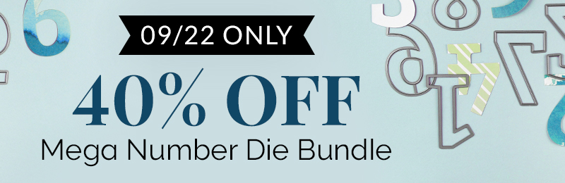 Get 40% OFF Mega Number Die Bundle
