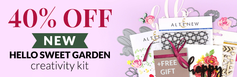 40% OFF Hello Sweet Graden Creativity Kit