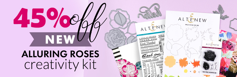 Save 45% off alluring roses creativity kit