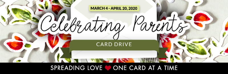Celebrating Parents Card Drive