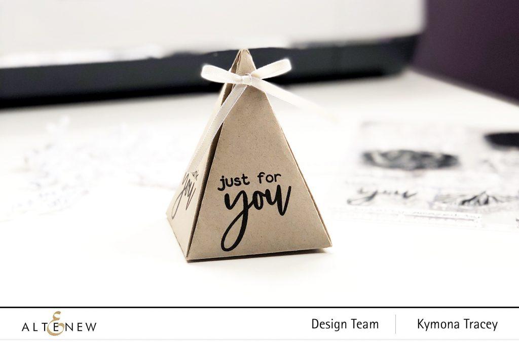 triangle gift box