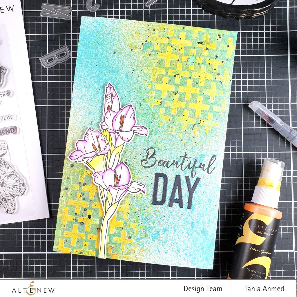 Easy Mixed Media Art Journal Page