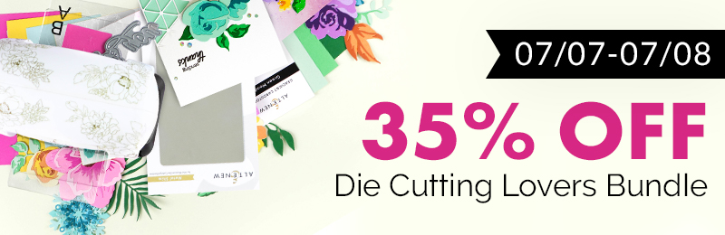 35% off die cutting bundle