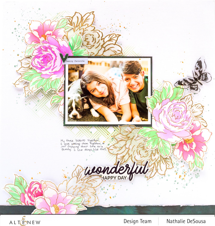 @altenew_KIND REMINDERS BUNDLE scrapbook layout_Nathalie DeSousa