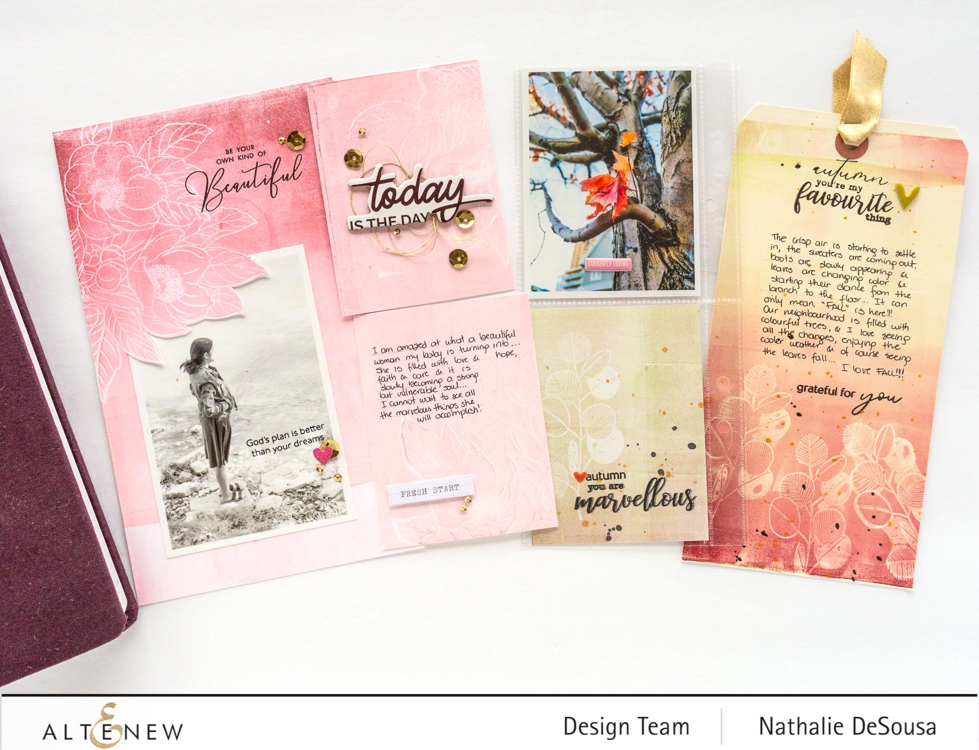 @altenew-monoprinting with Mixed Media inks _Nathalie DeSOusa