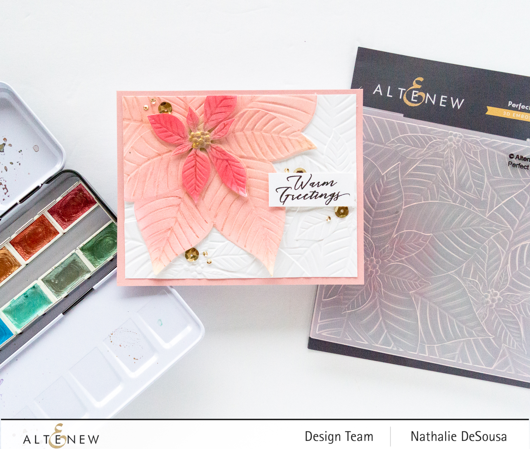 @altenew Embossing folder by Nathalie DeSousa