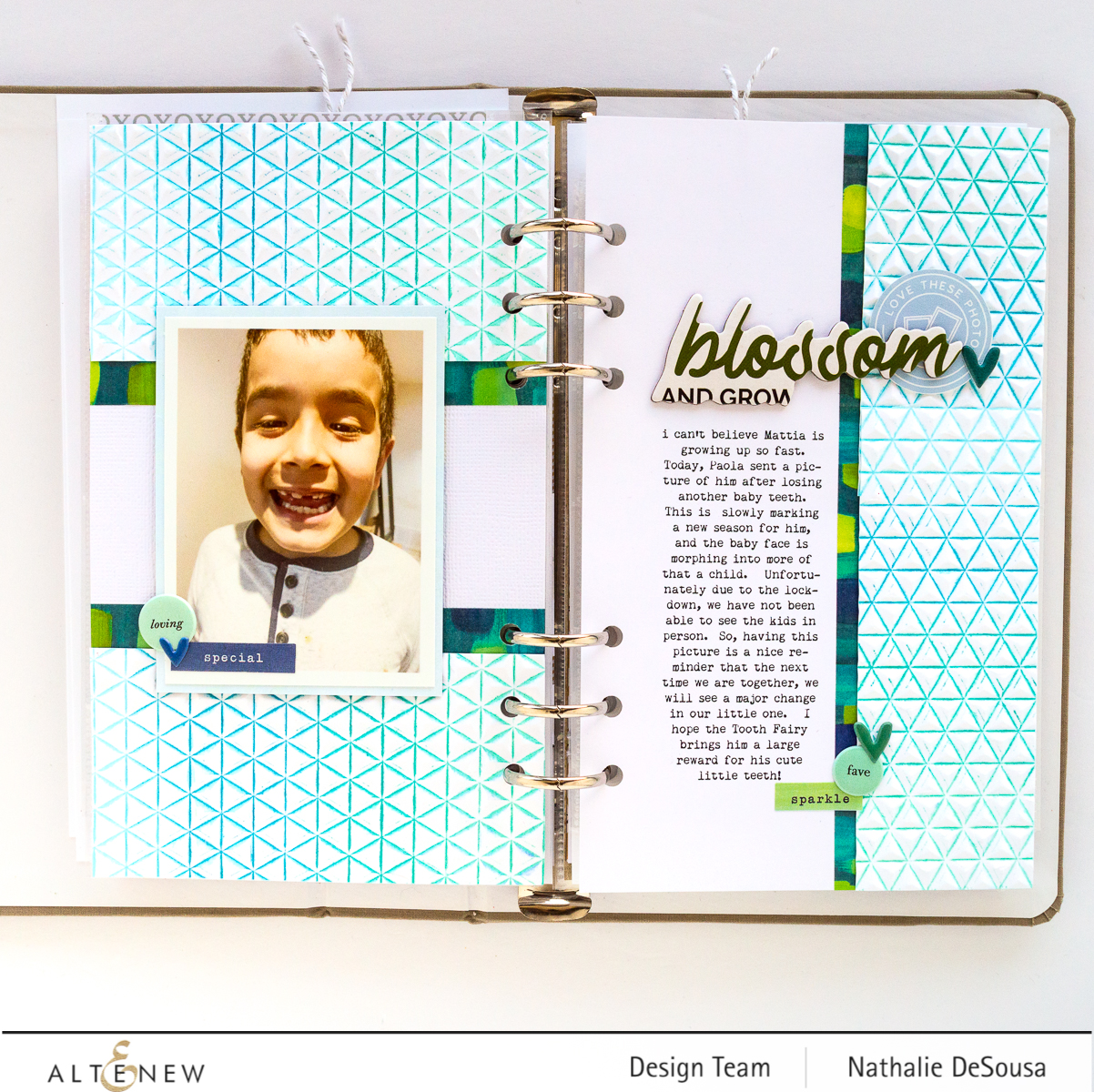 @altenew-EMBOSSING FOLDERS Highlight for Memory Keeping by Nathalie DeSousa