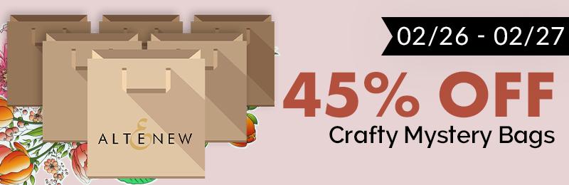 45% Crafty Mystery Bags