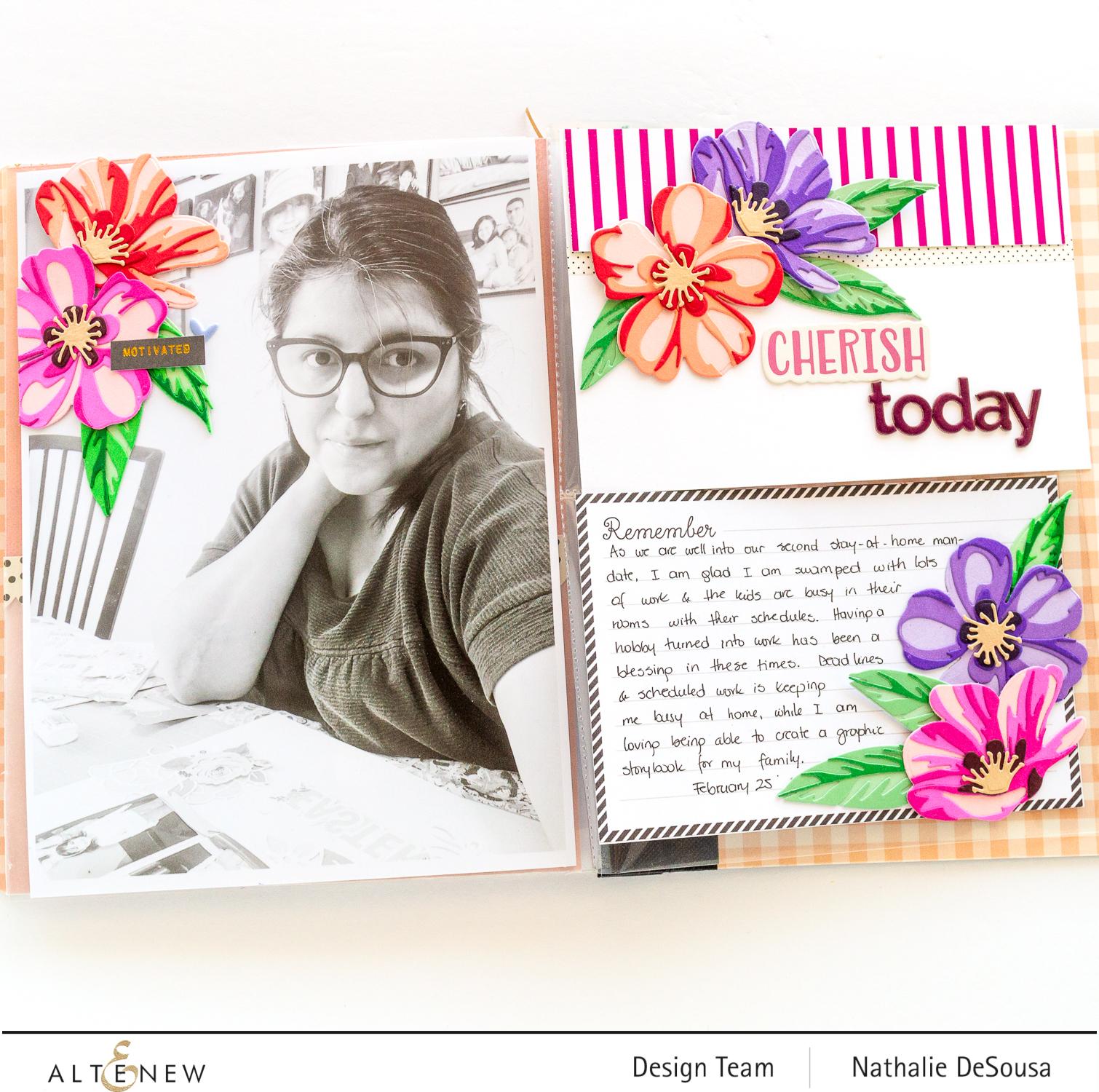 @altenew_gradient cardstock highlight by nathalie DeSousa