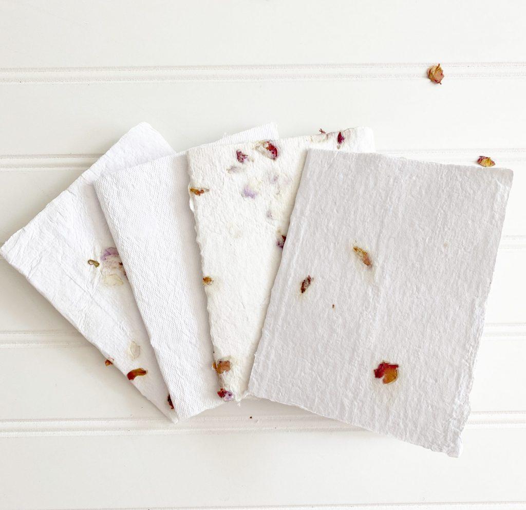Handmade paper: cards