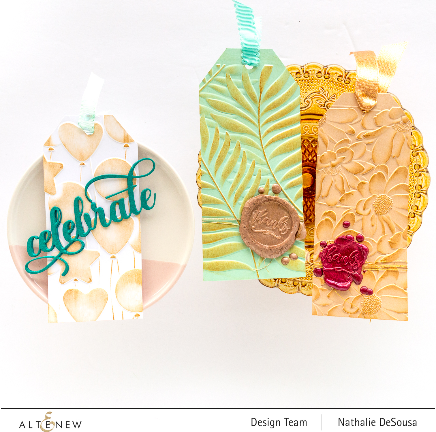 @altenew_ 3d embossing foldes highlight by Nathalie DeSousa