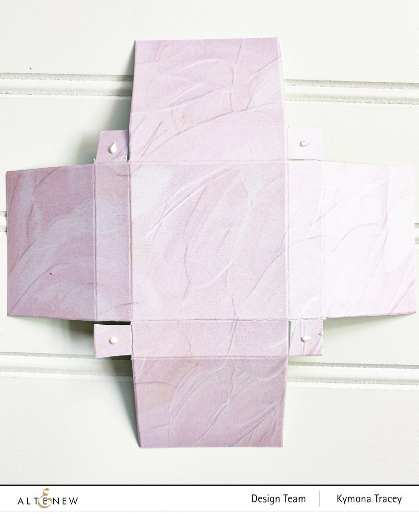 Dreamy Sunset Box: Add Glue