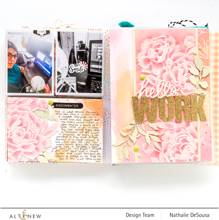 @Altenew_ adding dimension to paper crafting projects with Nathalie